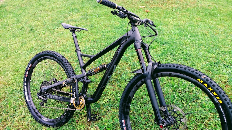 Jeffsy Enduro with 160mm Pike