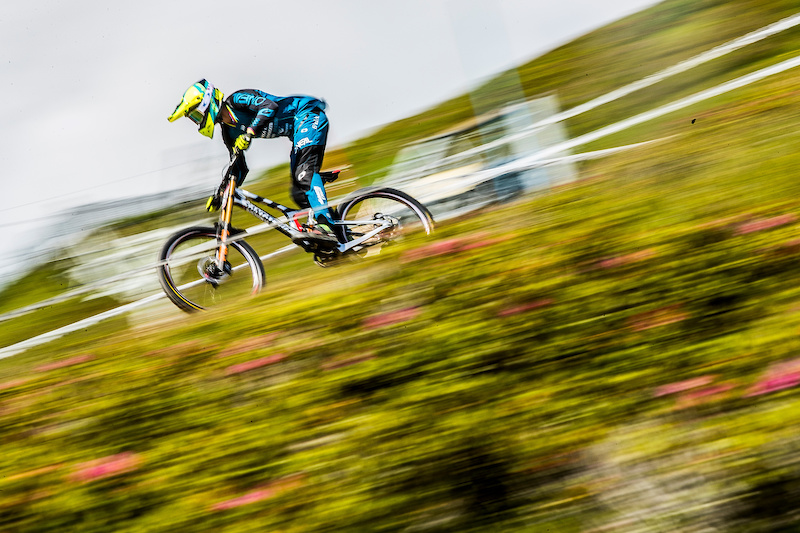 During the CWX Les Gets France round. Photo Sven Martin