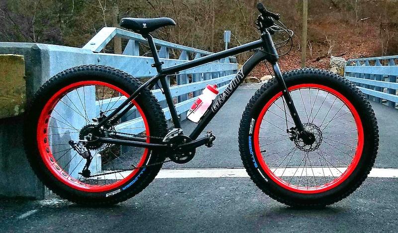 988be9fa300 2016 Gravity BullseyeMonster LTD Fat Bikes For Sale