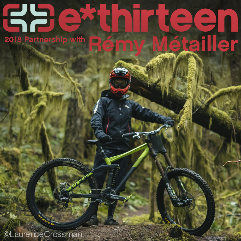 e*thirteen Partners with Rémy Métailler for 2018