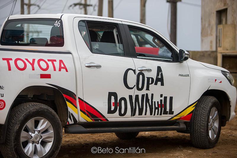 Copa Downhill - Morro Solar -Chorrillos Lima Peru June 25 2017