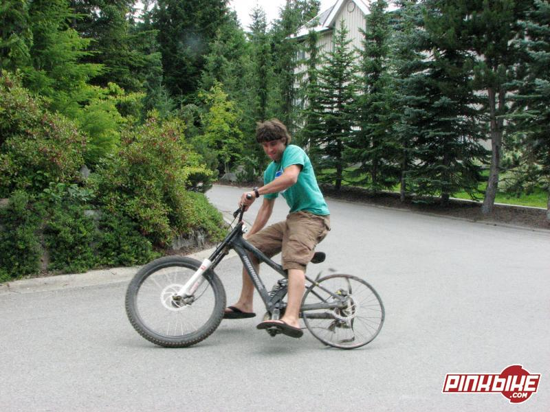 Drifting the rim...ya no dabs!