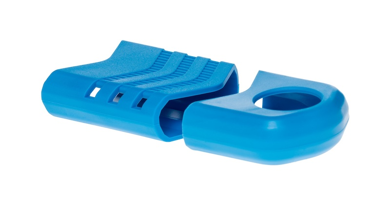 Blue Rubber Bumpers