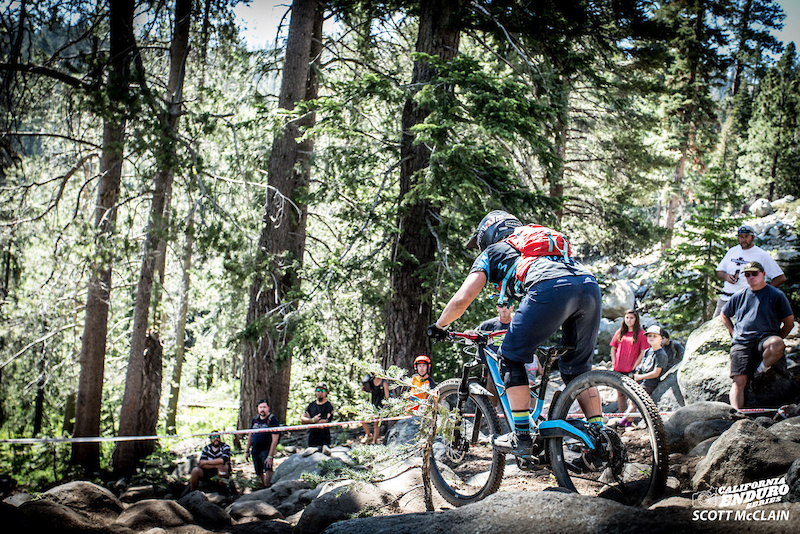 Amy Morrison Marin charging her way to first place Pro Women with three out of five stage wins over Marin teammate Janea Perry. Morrison is the Golden Tour female lead and currently stands in fifth place for the series overall.