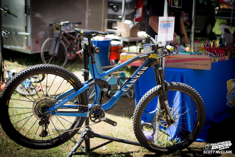 CES is excited to showcase the Canyon Spectral a replica of the bike Canyon rider Joe Barnes is racing in the EWS. This fine steed will be on display at the remaining 2017 CES races and Canyon will be on hand with their demo fleet at both the Crafts and Cranks and Kamikaze Bike Games events.