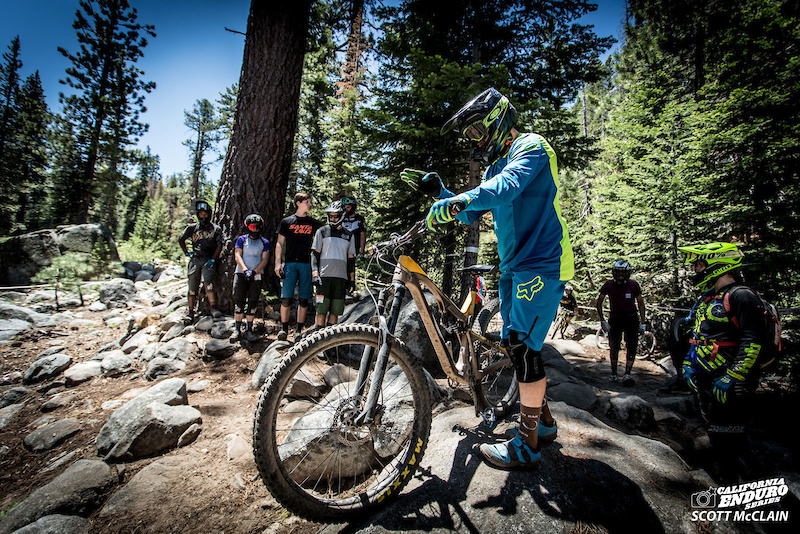 China Peak is not a course to ride blind. Most riders arrived Thursday evening to take full advantage of scoping out lines on practice day Friday.