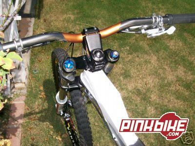 Easton Carbon bars with X0 shifter