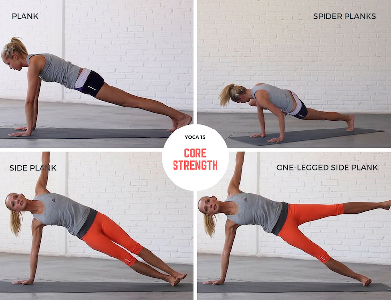 Yoga 15 Core Strength