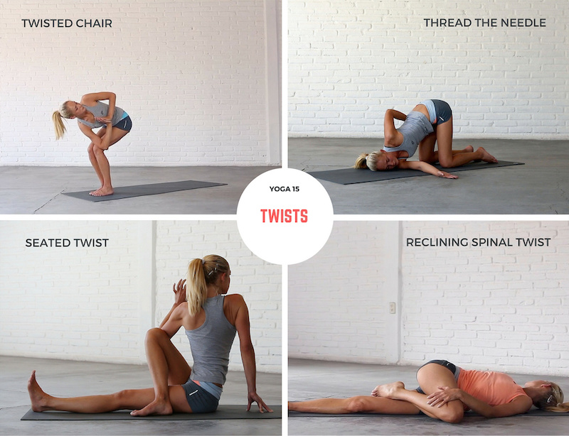 Yoga 15 Twists