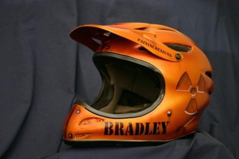 NC Helmet by Pain Inc Designs