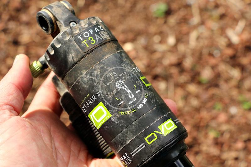 DVO Topaz T3 Air Shock - Review - Pinkbike