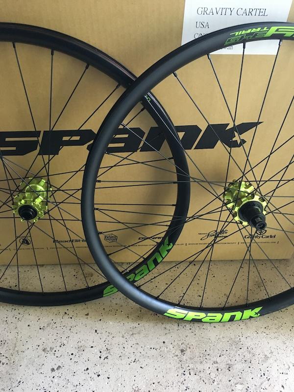 wheel set rims Spank