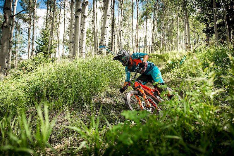 Ibis Cycles Enduro Race team at the EWS-Snowmass Aspen