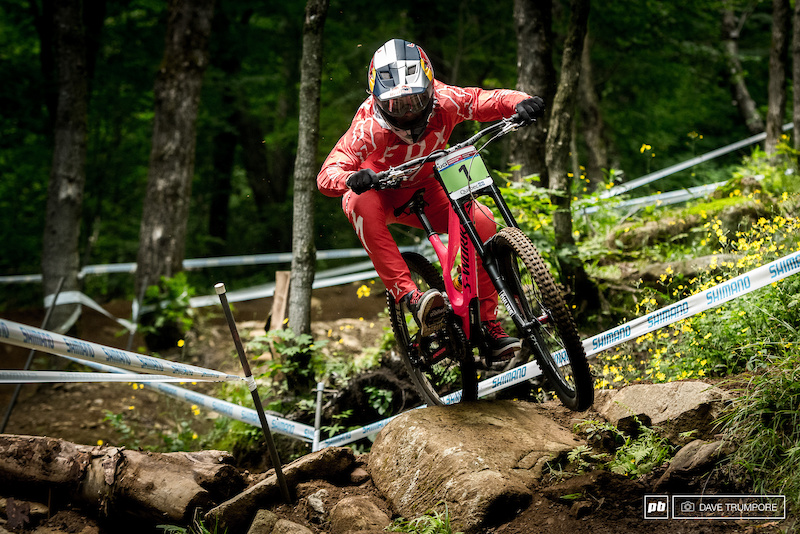Qualifying Results - Mont-Sainte-Anne DH World Cup 2017 - Pinkbike 764d0e284