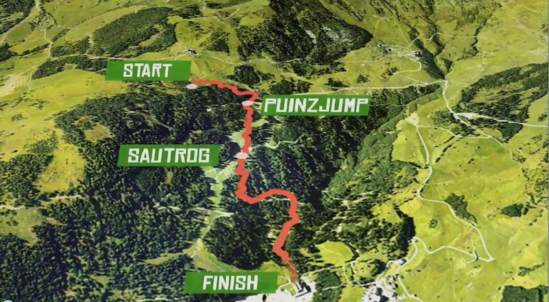 Serfaus-Fiss-Ladis Downhill Track
