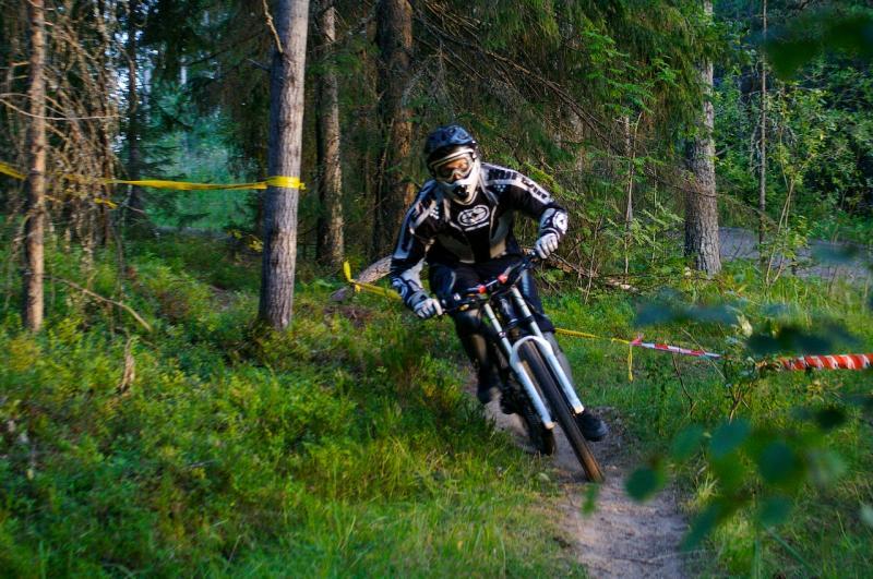 ridingJKL DHPuulaaki-competition. Photo: Erkka Lehto