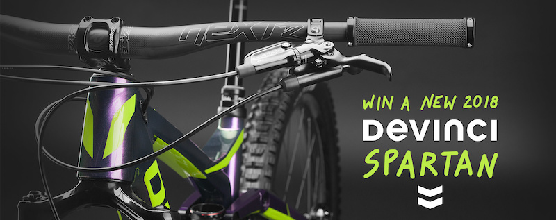 Last Day to Enter: Win a New 2018 Devinci Spartan with evo