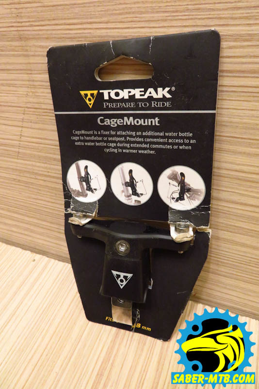 Topeak Cage mount ac