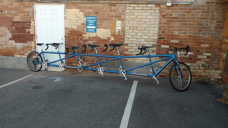6 Person Road Bike For Sale