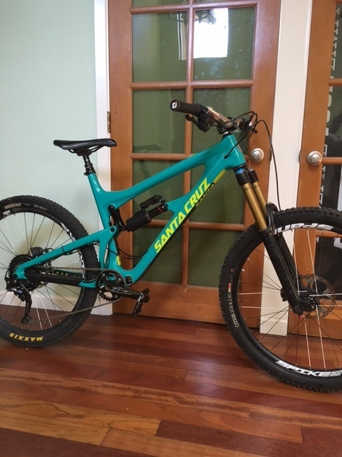2017 Santa Cruz Nomad Cc Xl For Sale