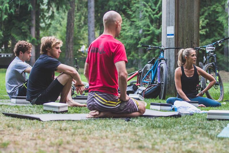 Stretch Release Class Rebagliati Park. Photo credit Boris Beyer