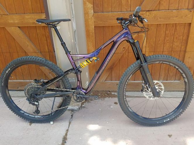 2018 Specialized Stumpjumper S-Works MIY Ohlins coil For Sale