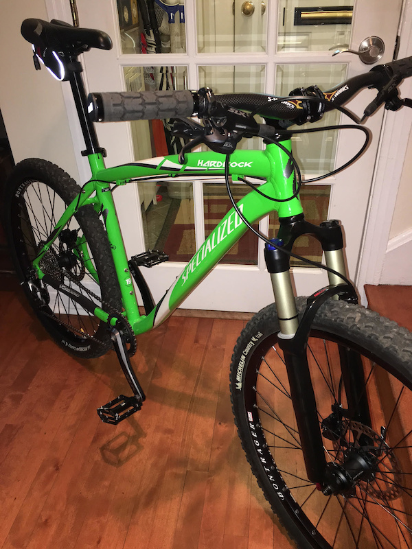 Pimped out Specialized 2009 HardRock disk 26