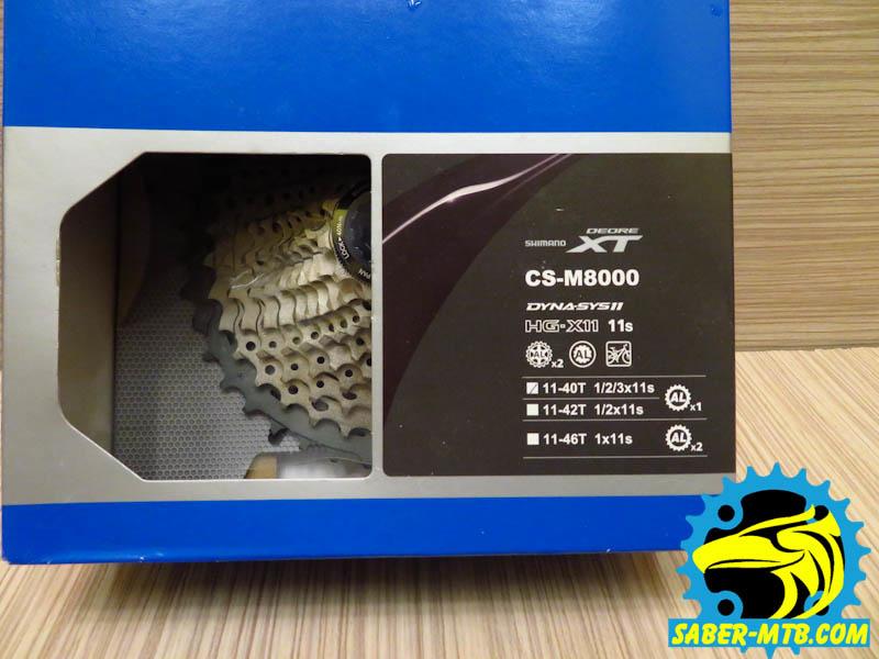 Shimano XT M 8000 cg