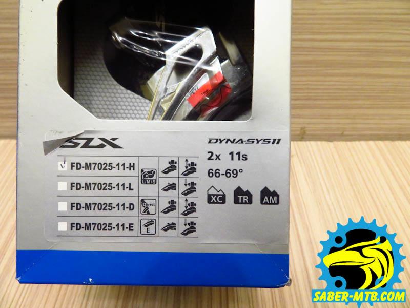 Shimano SLX Dyna11 fd
