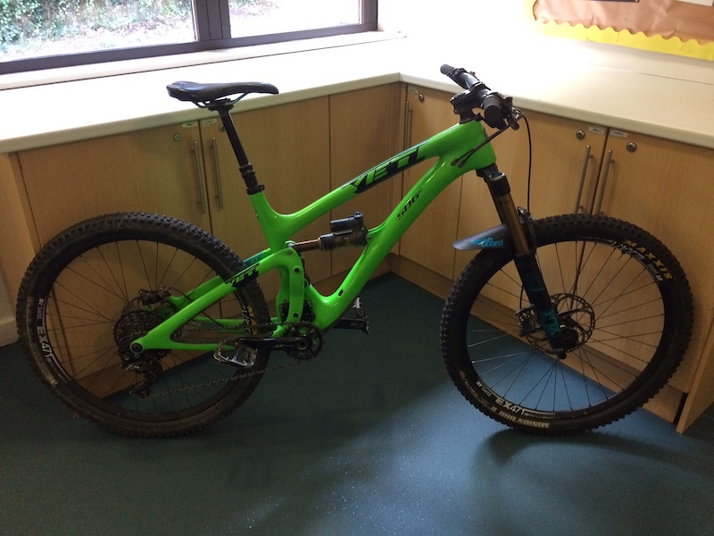 2016 Yeti SB6c Medium Boost Green