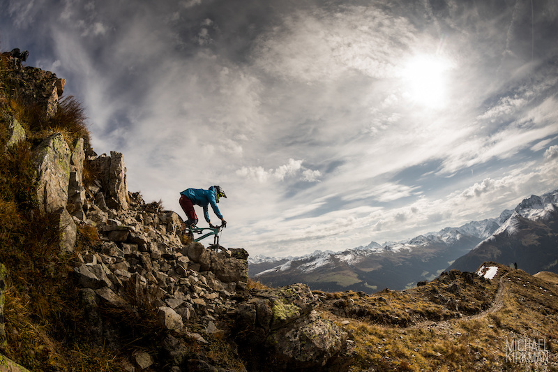 Enduro2 race in Davos Klosters