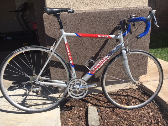 8fac90d3406 2004 Cannondale R400 CAAD 4 For Sale