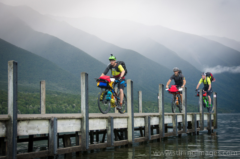 New Zealand Bike-Rafting Expedition - Waiau-toa Odyssey Video and Photo Story
