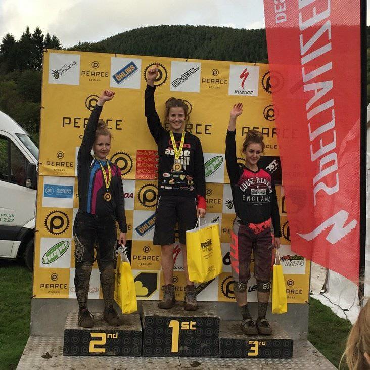 1st overall Junior Woman Pearce Series 2017
