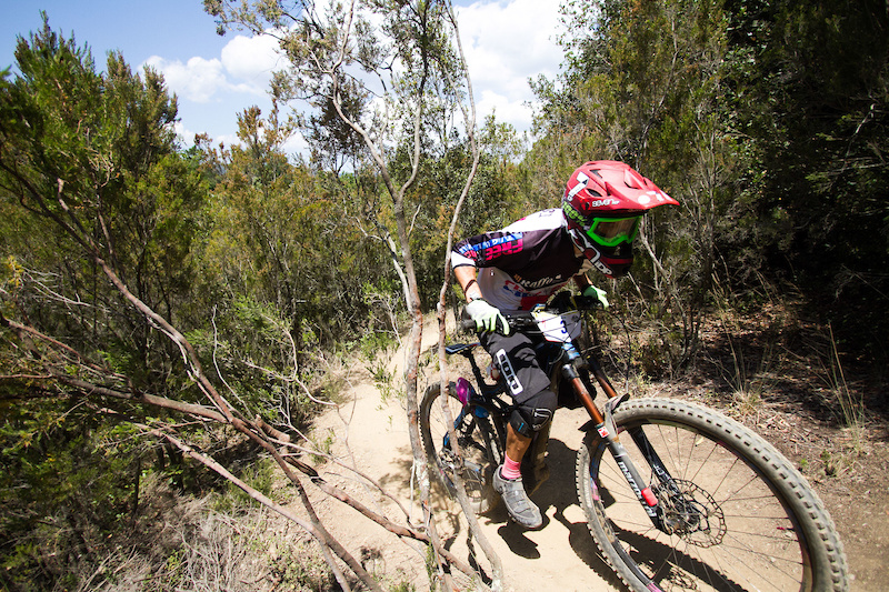 Climbs are a part of the race trails.