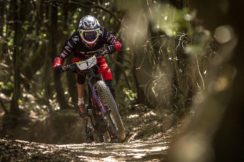Vittorio Gamberasio races the E-Enduro Series