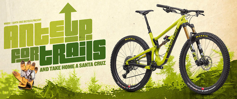 Donate 5 and Win a Santa Cruz