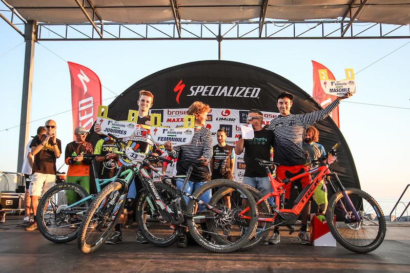 Overall series podium winners.