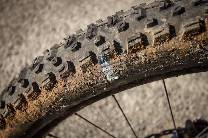 Just like normal bikes a puncture can end dreams.