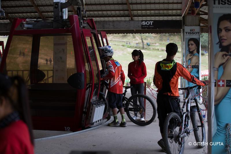 Shuttle at Ski Himalayas Mountain Bike Park - Solang Valley Manali - www.himalayanmtb.com