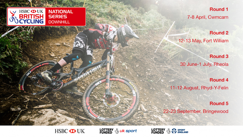 British Cycling Confirm Downhill Series Dates and Venues for 2018