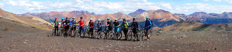 Conquering the top of Deer Pass