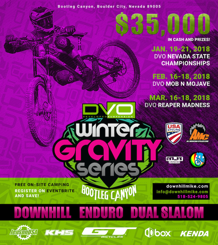 2018 DVO Winter Gravity Series