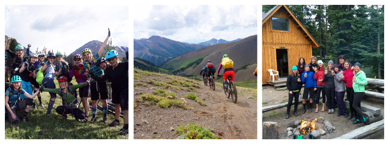 Sweet Skills Ladies Only Backcountry camps in the South Chilcotin.