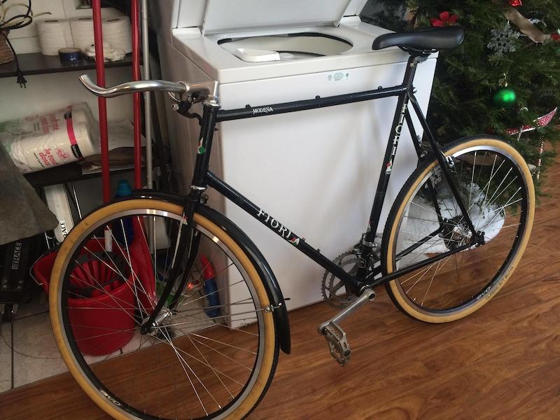 Commuter bike in progress
