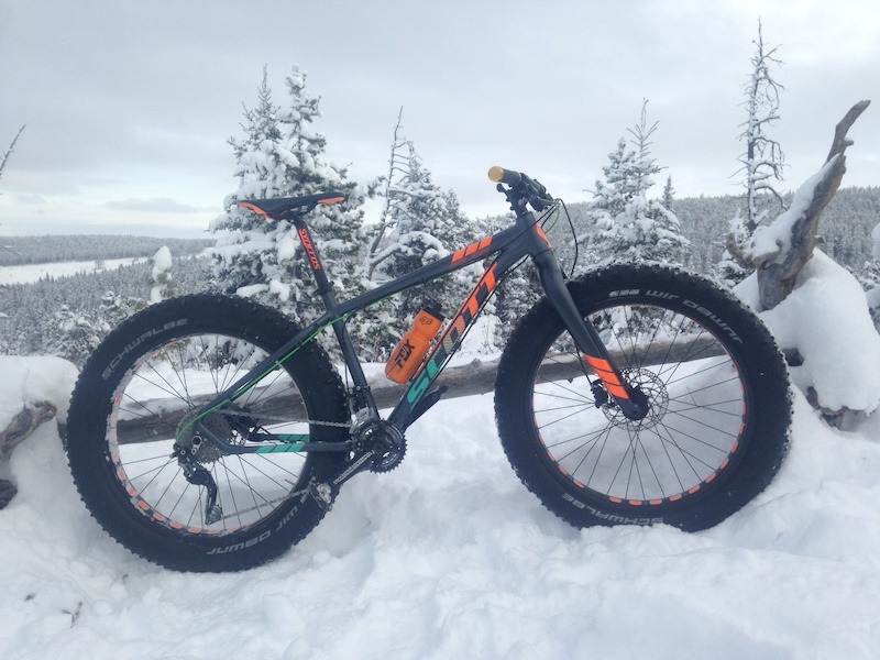 Fat bike in it's element