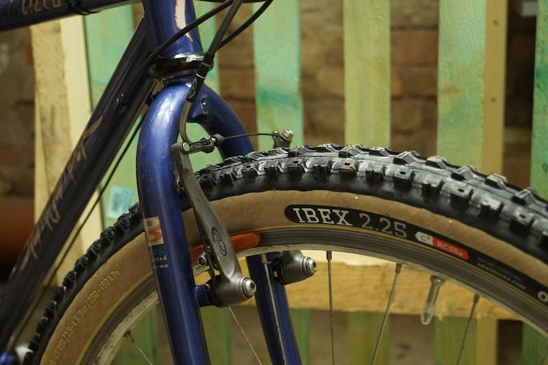 front brake Avid SD Ti with Kool Stop brake shoes