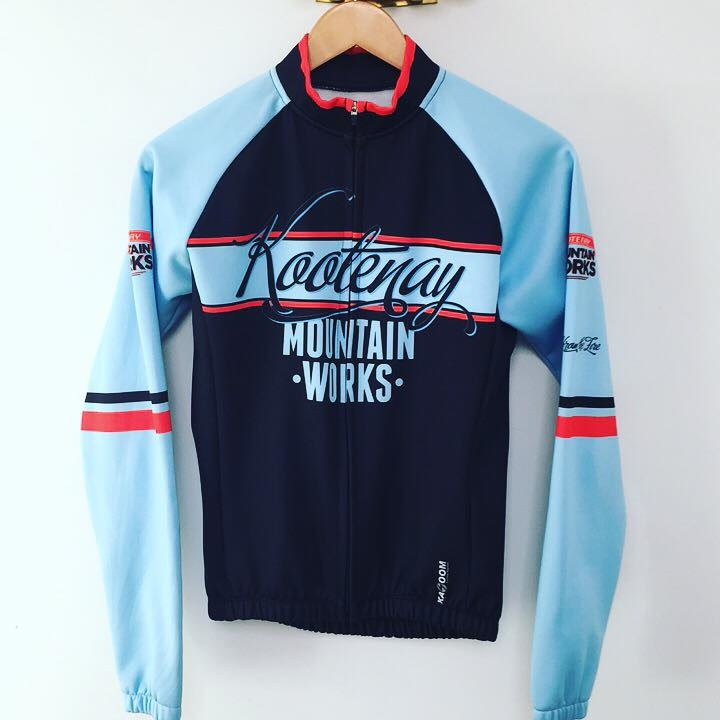 Perfect Jacket for Fat Biking or Winter Cycling. Get your own design made. www.KazoomCycling.com