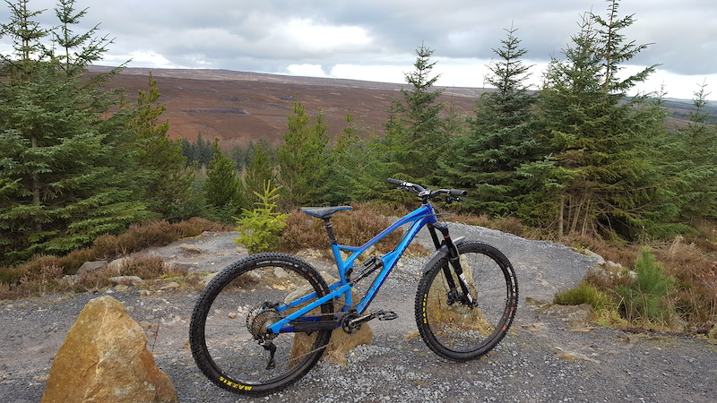 2018 Nukeproof Mega 290 Comp out for a play