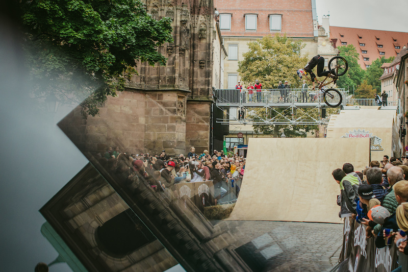 One shot no multiply shot no photoshop with Emil Johansson from 2017 Red Bull District Ride